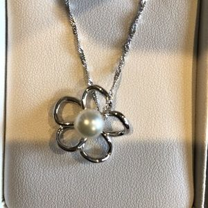 Pear necklace and ring pearl factory Hawaii